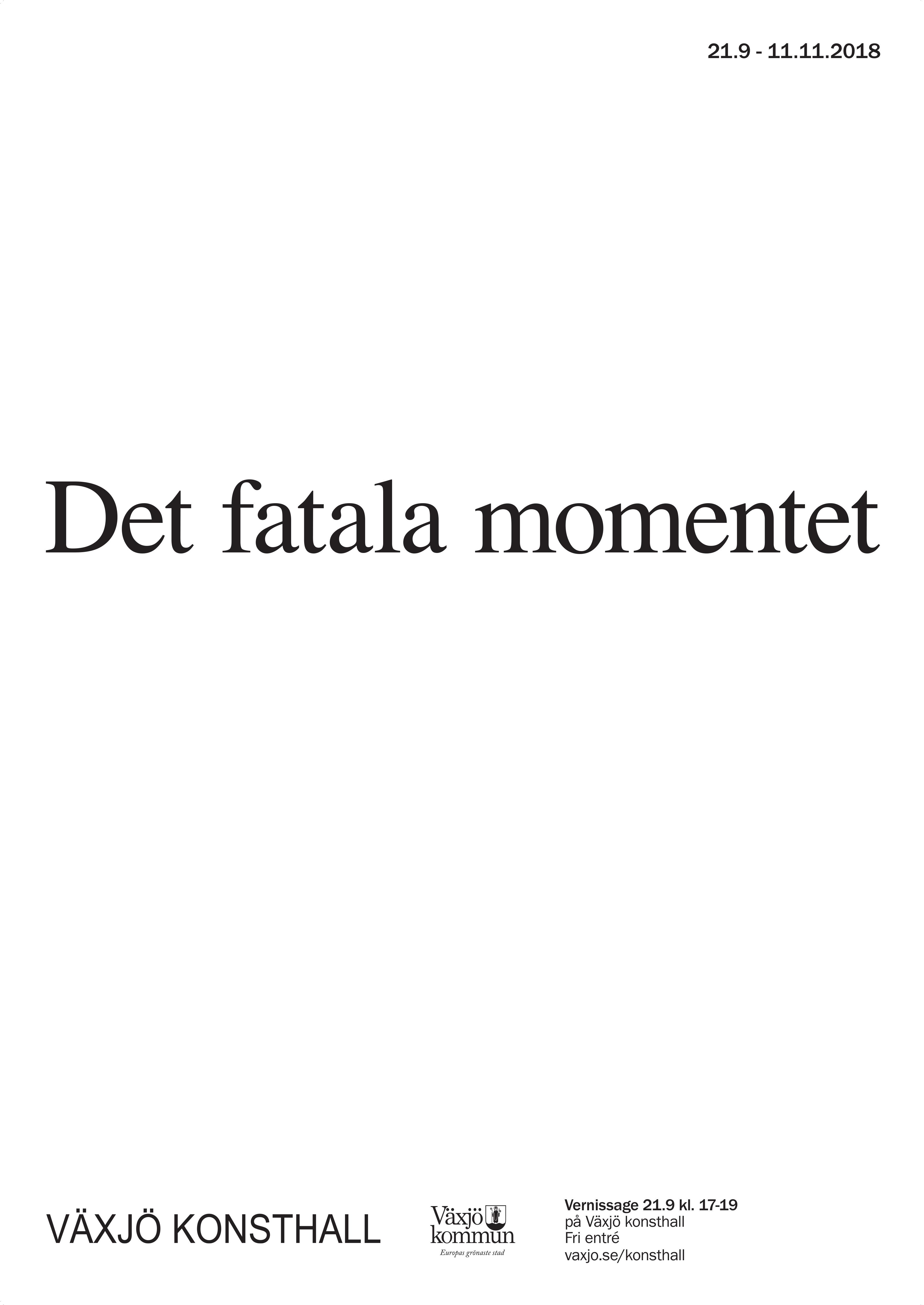 Poster Det Fatala - FINAL 2